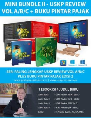 Bundle USKP Review A/B/C + Buku Pintar Pajak