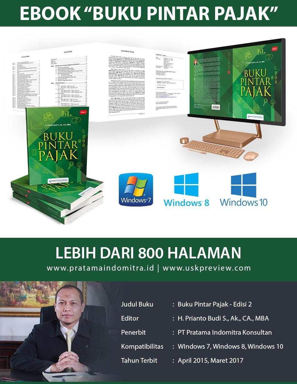 """Ebook """"Buku Pintar Pajak - Edisi 2"""" Prianto Budi"""